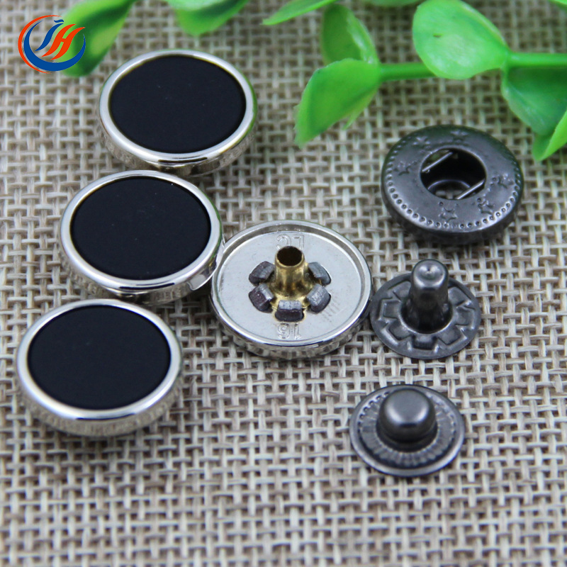 New Style Press Metal Snap On Buttons For Shirts