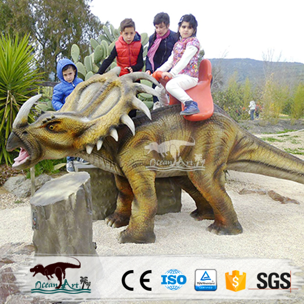 OA6170 Amusement Park Rides Of Dinosaur For Kids To Have Fun