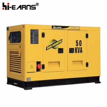 50KVA water cooled silent diesel generator price