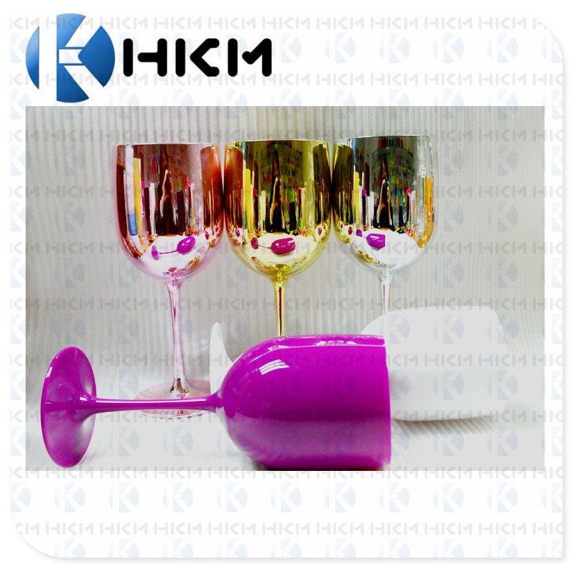 Groothandel Prijs Acryl Plastic Custom Unbreakable Bril Voor Champagne Fluiten 130 ml Champagne Fluiten