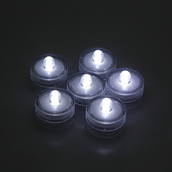 Cheap wholesale fountain lights led glow submersible candles wedding decoration