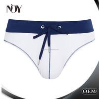 Quick Dry Custom Swimwear men Brief OEM with rope