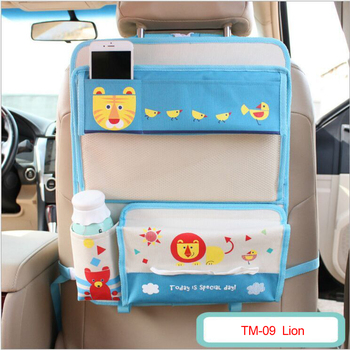 auto kids toy storage car seat organizer for baby travel accessories