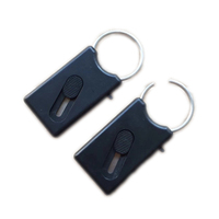 Safety Mini Keyring with Retractable Hidden Blade Cutter