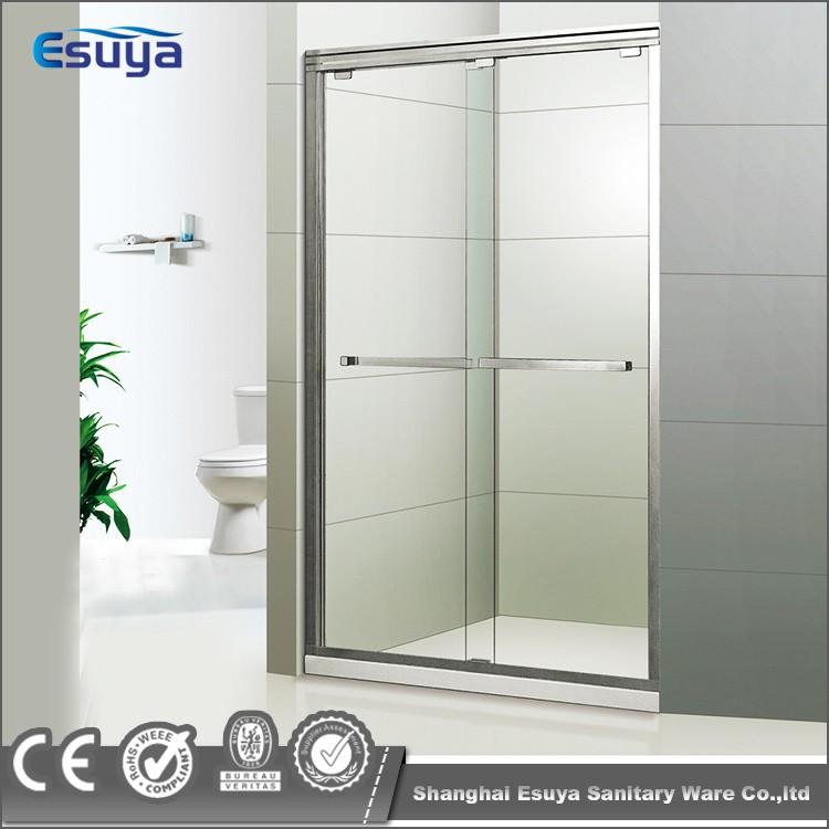 3 Panel Sliding Glass Door: Hotel Shower Enclosure 3 Panel Sliding Glass Door Frosted