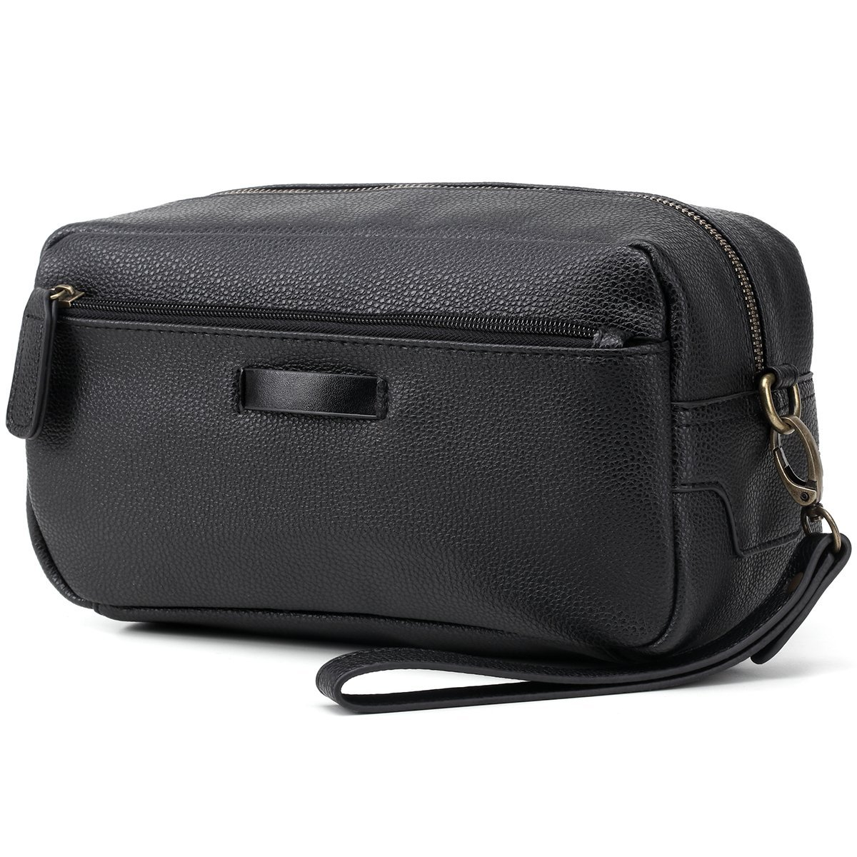 82192c45e761 Get Quotations · Leather Toiletry Bag mens toiletry bag Travel bags for toiletries  shaving kit bag Dopp Kit with