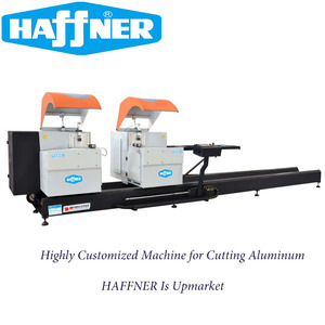 Best Selling Aluminium Window Frame Fabricator Machine for Double Mitre Saw Machine