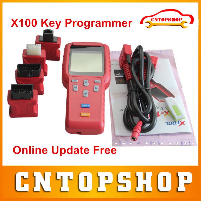 Dhl бесплатно 100% оригинал X100 программер авто ключ обновление поддержка онлайн X 100 Pro для автомобилей марки х-100 ключевых программер
