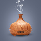High Quality 300ml Wood Ultrasonic Humidifier Aromatherapy Essential Oil Aroma Diffuser