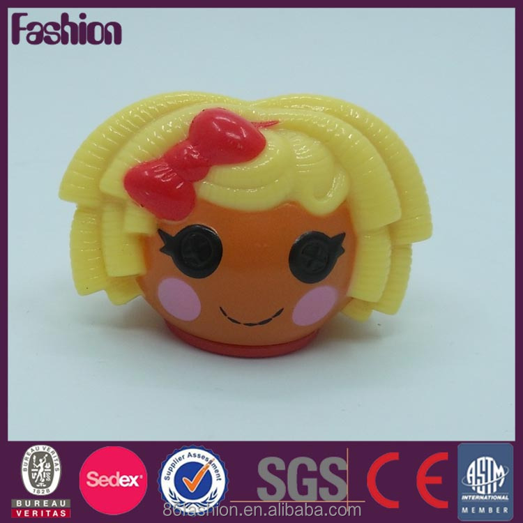 Top quality factory price perfume plastic bottle cap with 3D cartoon design