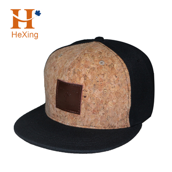 c18ef669f0f High Quality Custom Wooden Cork Hat Flat Brim Hats - Buy Wooden ...