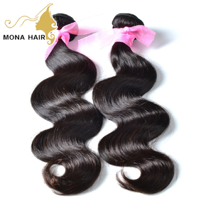 wholesale 14inch body wave virgin indian hair in india