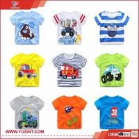 wholesale for kids 100% cotton custom T shirt children