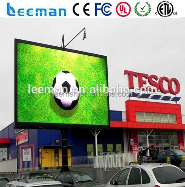 Shenzhen Leeman LED led outdoor strip curtain screen hanging led board