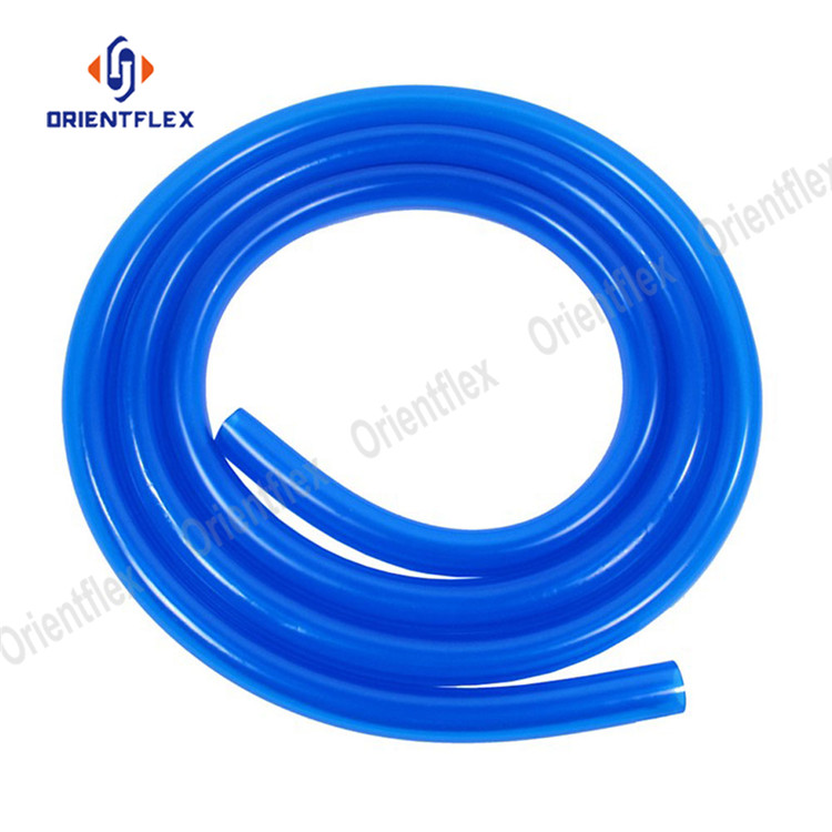 Flexible Plastic Air Tubing 10mm Bore Garden Reinforced CLEAR PVC Braided Hose