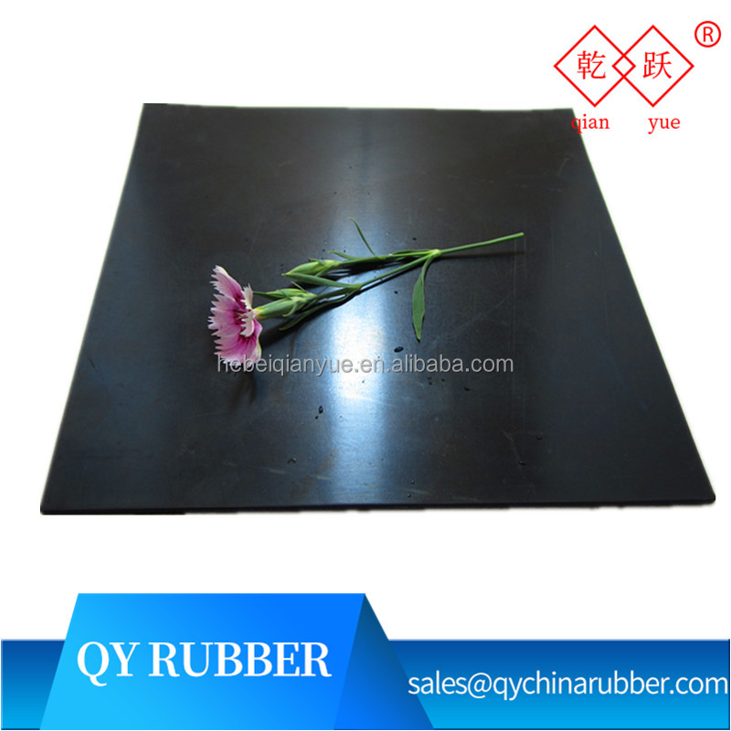 good factory price black industrial floor rubber mat
