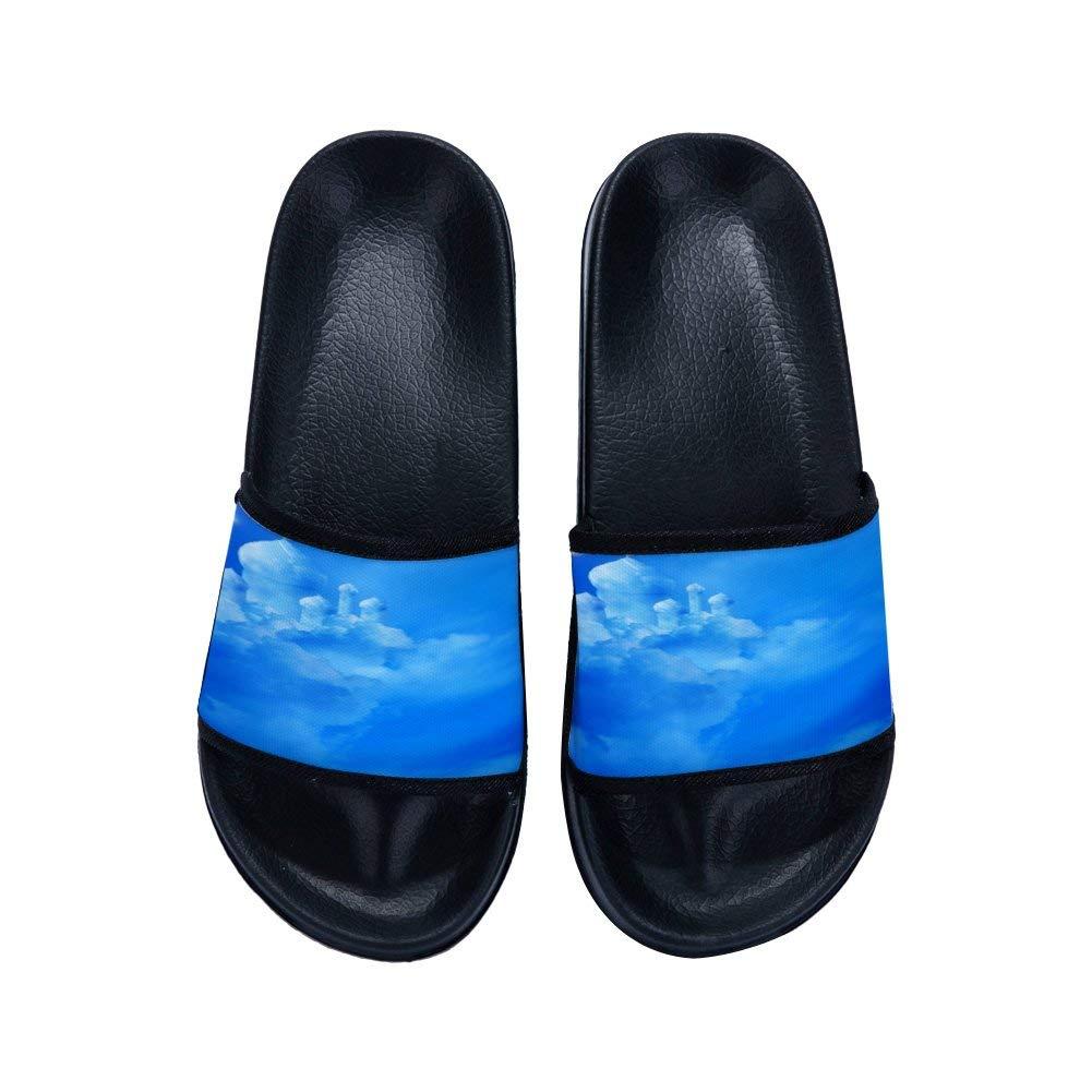 2215b2f51ec5 Get Quotations · GordonKo Men Outdoor Beach Swimming Spa Slide Sandals  Indoor Home Bath Shower Slippers Summer