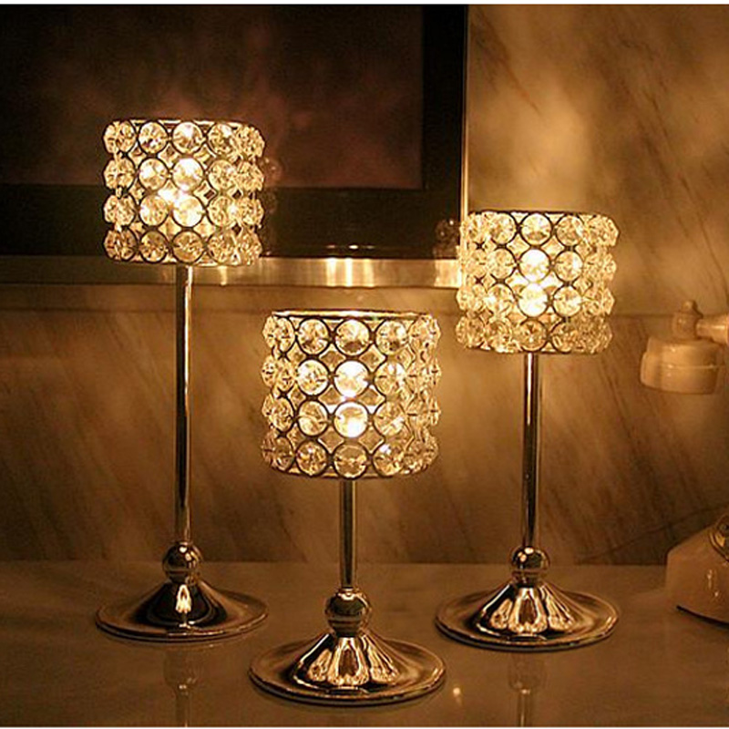 Wedding Decoration/home Decor/ Candle Holders/crystal