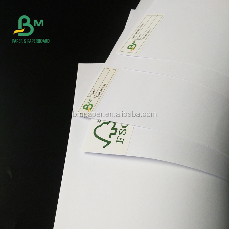 Offset Printing Super White 53gsm Uncoated Woodfree Paper For Printed Books Use