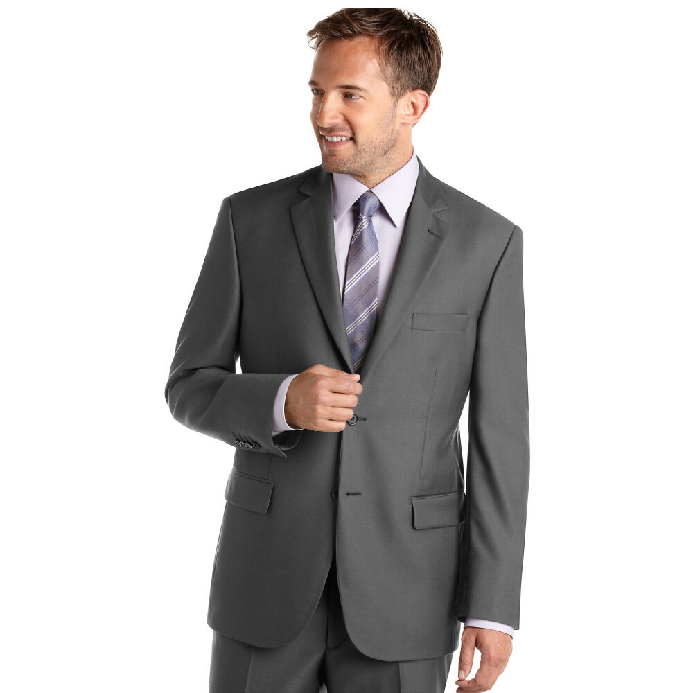 7a26802bef Get Quotations · Custom Made!Notch Lapel Two Buttons Groom Wedding Gent Suit  Men Suits Groom Tuxedos Groomsmen
