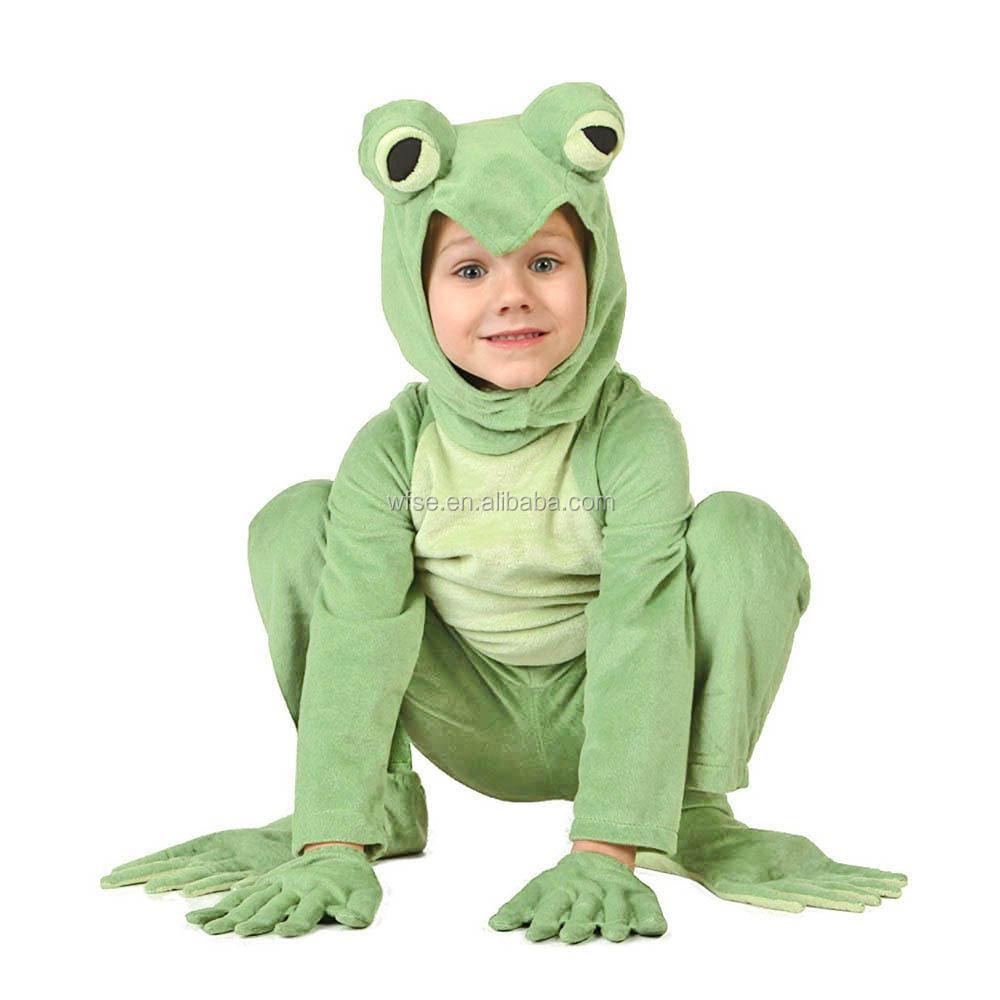 vestido bebs rana rana traje pequeo traje de la rana animal pijama mono disfraces carnaval de