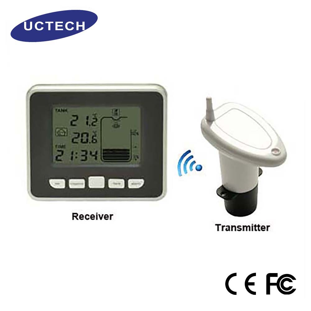 FT0021 Wireless ultrasonic Water Tank Level indicator with indoor temperature