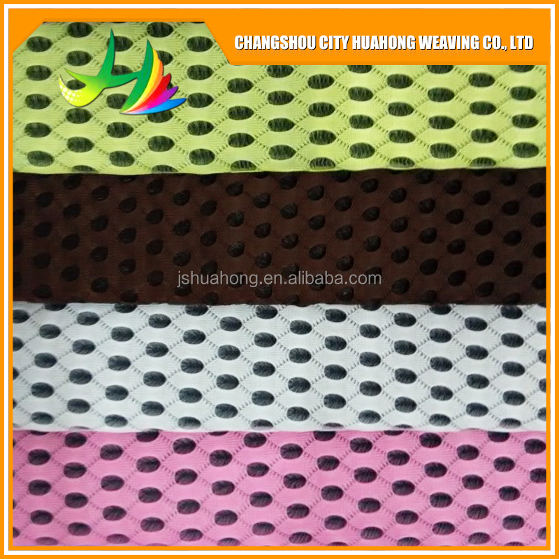 sandwich mesh fabric polyester,Flame retardant, on the stiffening agent
