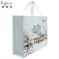 Laminated Non woven Promotional shopping bags tote bags