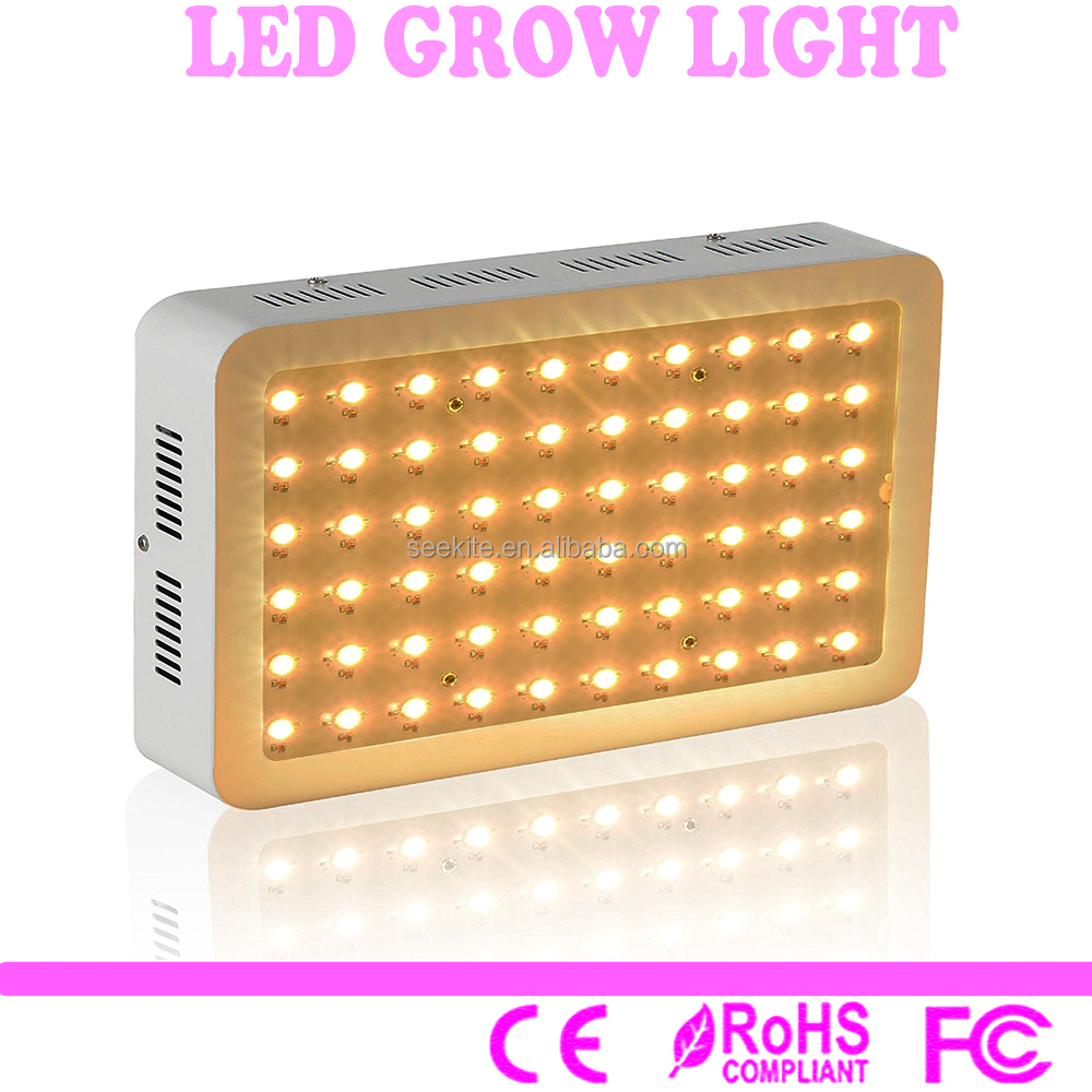 Hot selling 2017 amazon grow light 300w full spectrum led grow lights panel for hydroponic farm