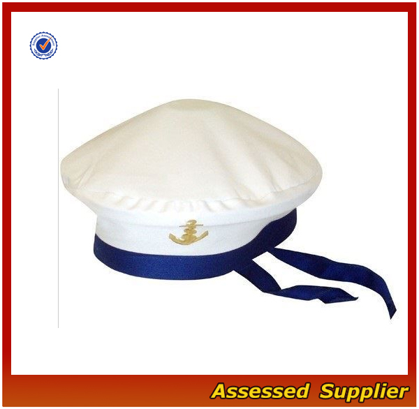 SLH003 Captain sailor hat sale custom marine hat