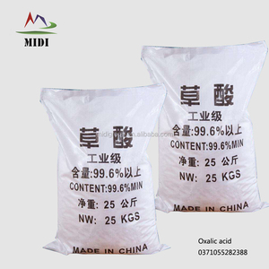 High Quality Oxalic acid packing in 25kg bag, for cleaner( home depot )