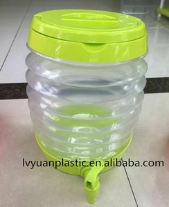 Hot Sale collapsible beverage dispenser For Baby Kids with tap