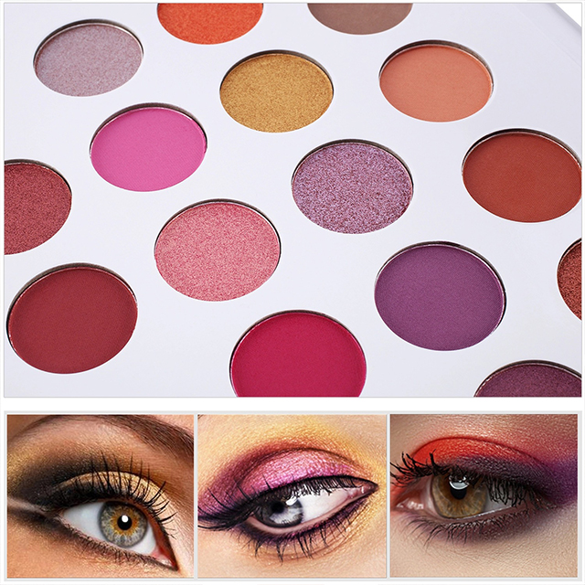 NEW Hot Selling Makeup Cosmetics Manufacturer Shimmer Eyeshadow Glitter Shining Naked Jelly Eye Shadow
