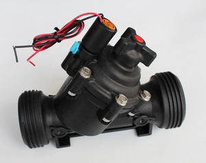 solenoid controlled valve with 2-Way Internal Controls and Trio integrated Open-Auto-Close manual selector