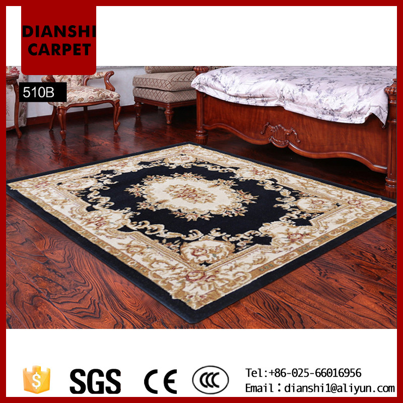 Vintage Wholesale Floral Pattern Wall To Wall Hotel Carpet For Study Room
