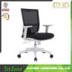 Best Sale Office White Plastic Table And Ergonomic Chair With Wheels CH-133B-2