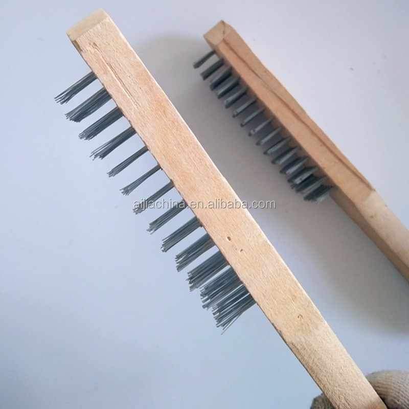 cleaning hand tools steel wire brush