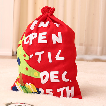 Custom Wholesale Christmas decoration elves ornaments gifts candy bags