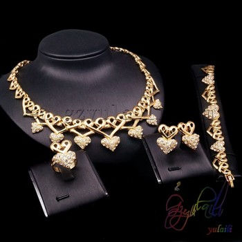 d3c80e12ceb4 Брендовые украшения ручной работы набор женские для Африки Нигерии  Позолоченные ювелирные изделия мода комплекты