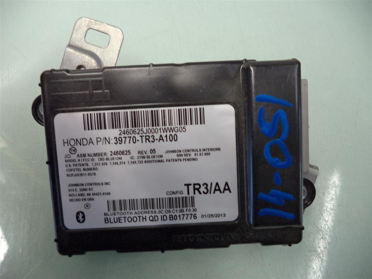 13 14 15 Honda Civic HFT bluetooth blue tooth control module unit computer OEM