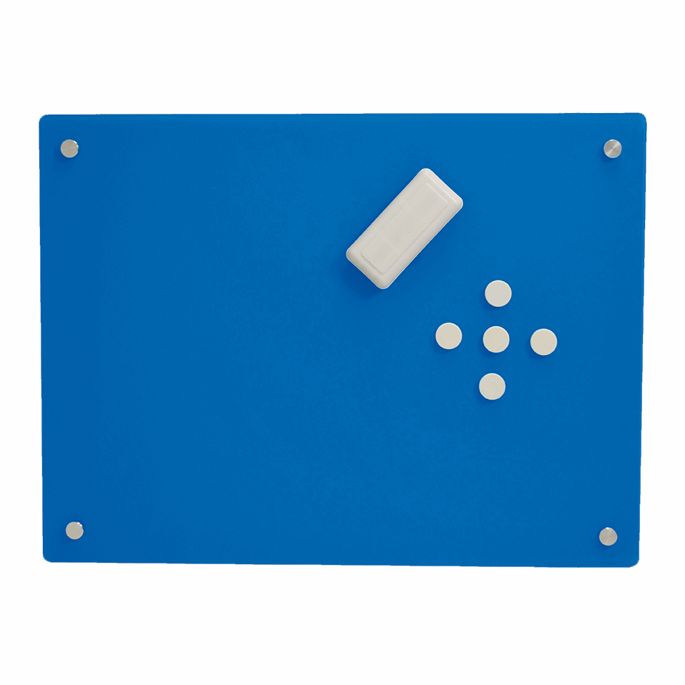 Mosaic magnetic glass whiteboard , Magnetic board wall-mounted glass