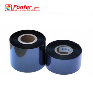 Wholesale compatible zebra ribbon thermal transfer high quality Wax/Resin Barcode printer Ribbons