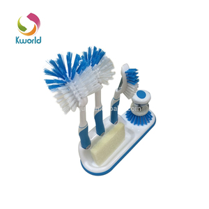 Almighty Kitchenware Plastic Brush Group,Include Long Handled,Pan,Sponge Brush