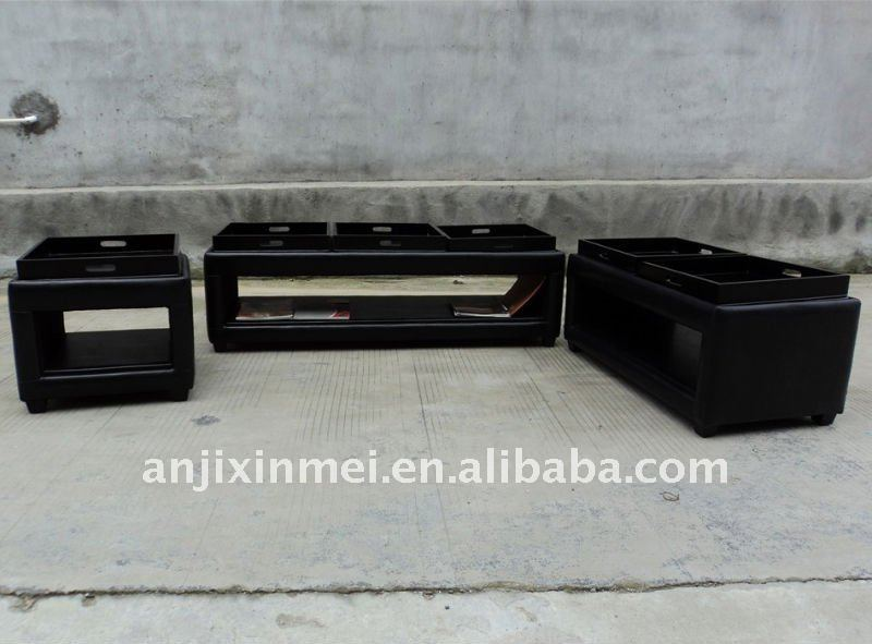 storage otoman with tray XM--3092