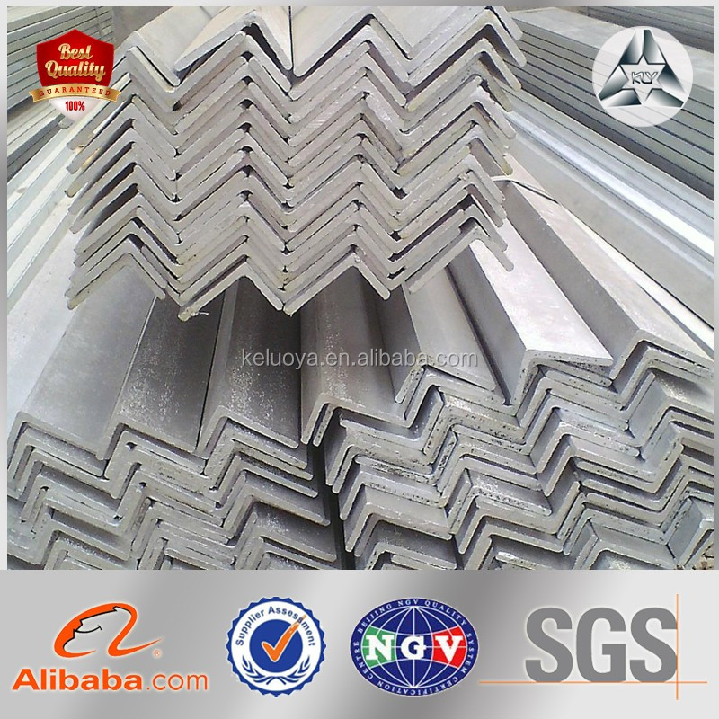 v shaped angle steel bar, steel angle with different angle iron sizes