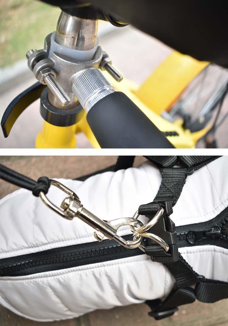 Attractive design Pet Bike Dog Leash,Dog Bicycle Leash