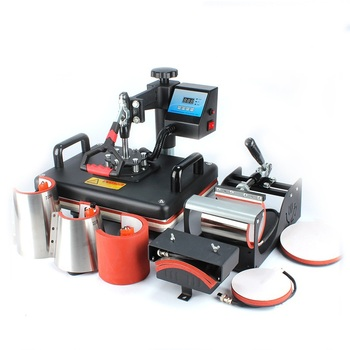 Freesub 8 In 1 Combo heat press machine Mugs Cup tshirt Printing Machine t-shirt sublimation machine 8 1