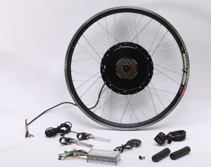 low price 36v/48v 500w front/rear hub motor conversion kit for self-installment of ebike