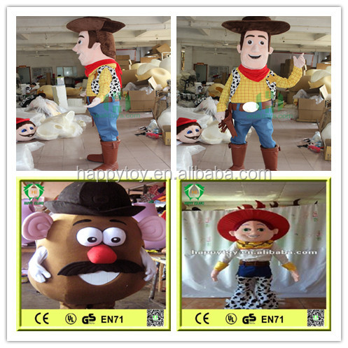HI Famous custom cartoon character mascot costume toy story costumes for sale