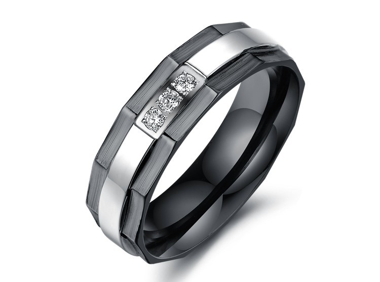 Tryme Free Shipping Stainless Steel Wedding Bands Couple Rings